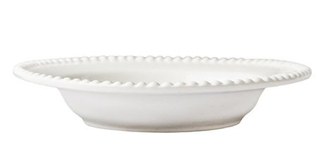 DARIA Suppetallerken Hvit 26 cm 2-pakning