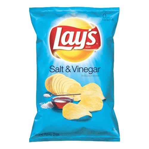Lay's Salt & Vinegar Chips - 175 gram