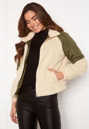 JDY Zia Teddy Mix Jacket Birch L