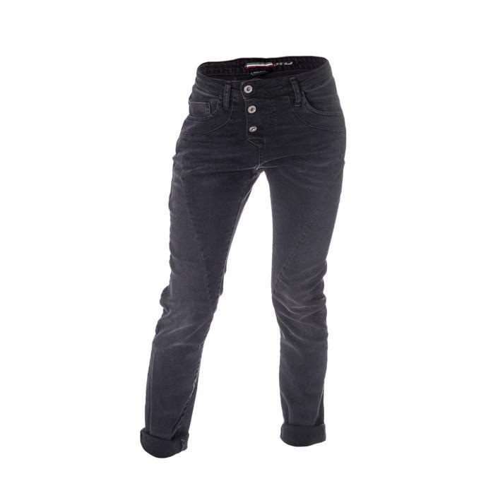 Please Women's Jeans Black 164572 - black XXS