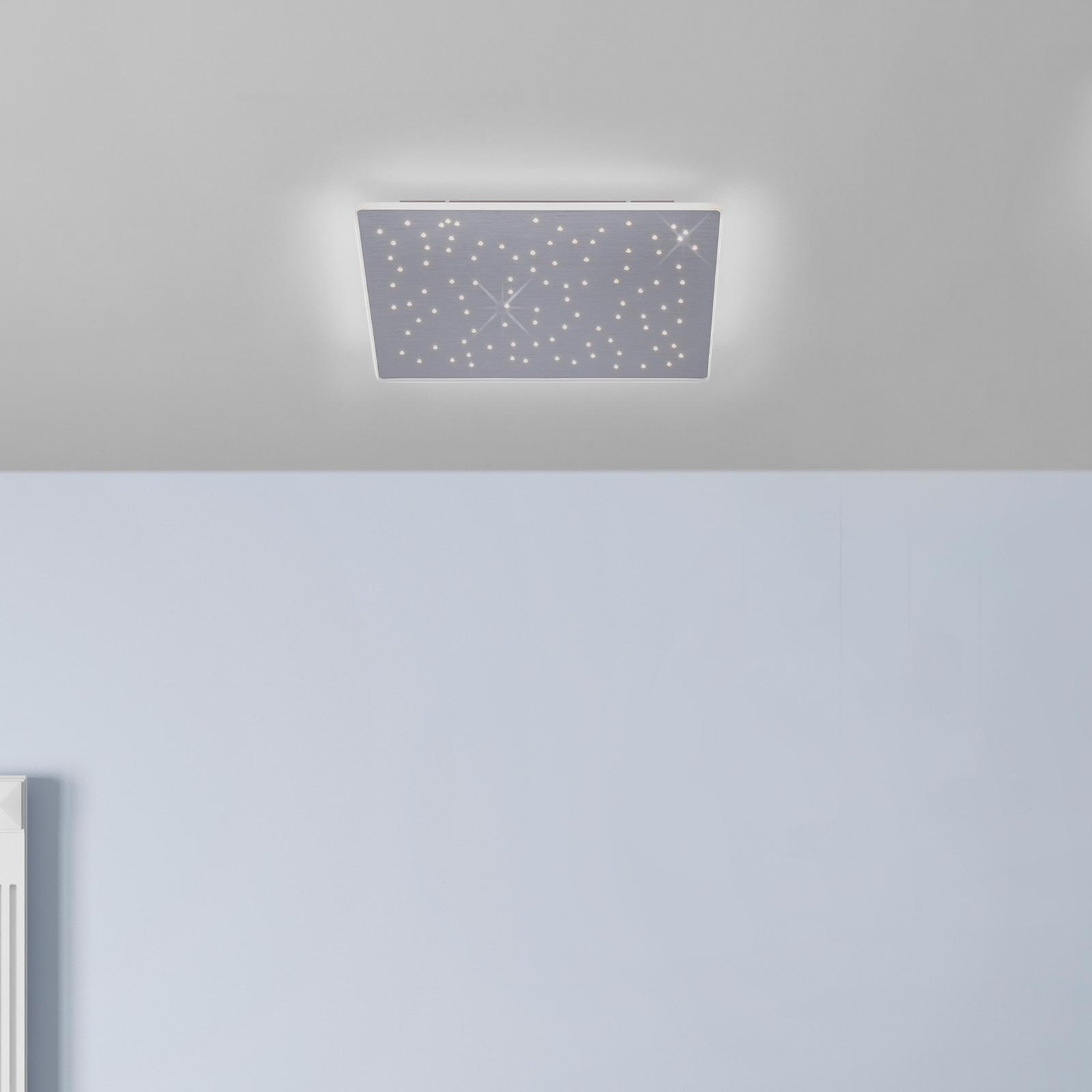 Paul Neuhaus Q-NIGHTSKY, LED-kattovalaisin 60x60cm