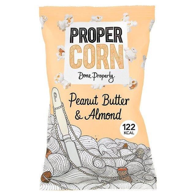 Propercorn Peanut Butter & Almond Popcorn 90g