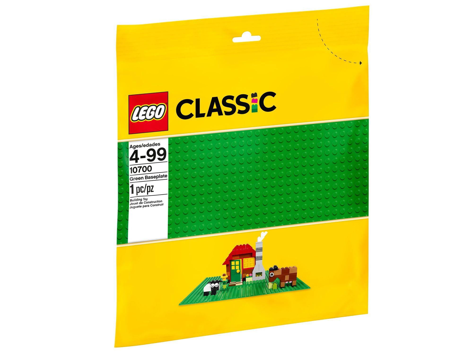 10700 LEGO Classic Aluslevy, Vihreä