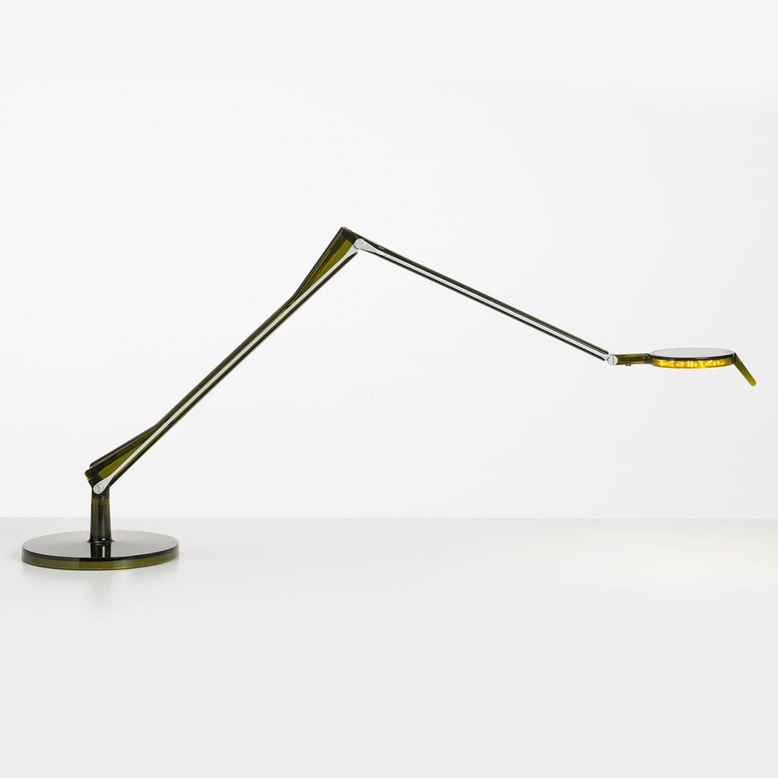 Kartell Aledin Tec - grønn LED-bordlampe