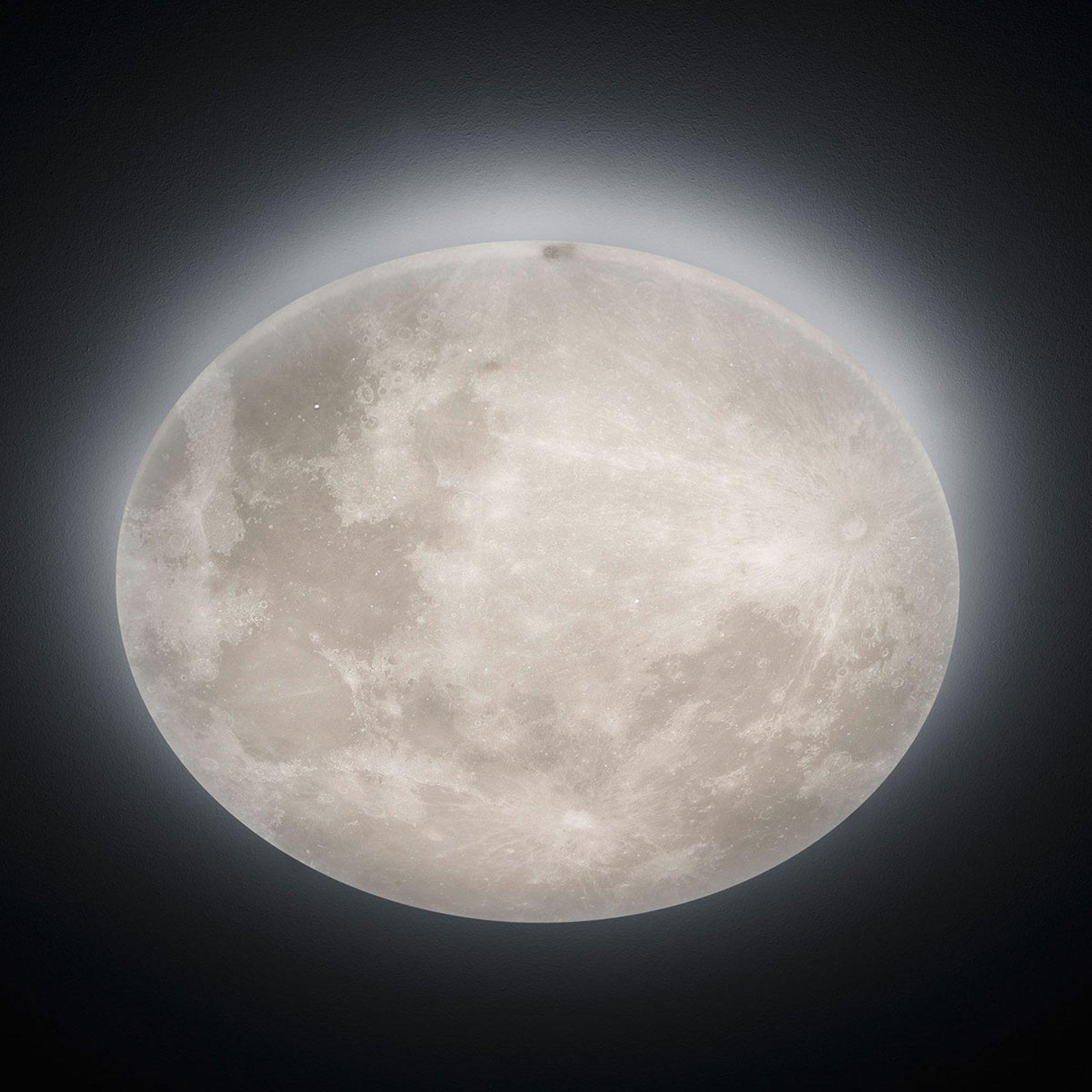 LED-taklampe Lunar med fjernkontroll 60cm