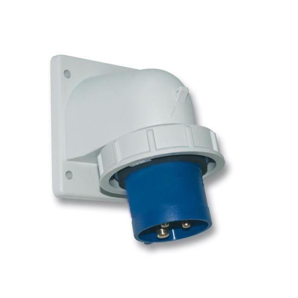 Garo IIV 232-4 S + HI Vegginntak IP67, 3-polet, 32 A Gul, 4 h