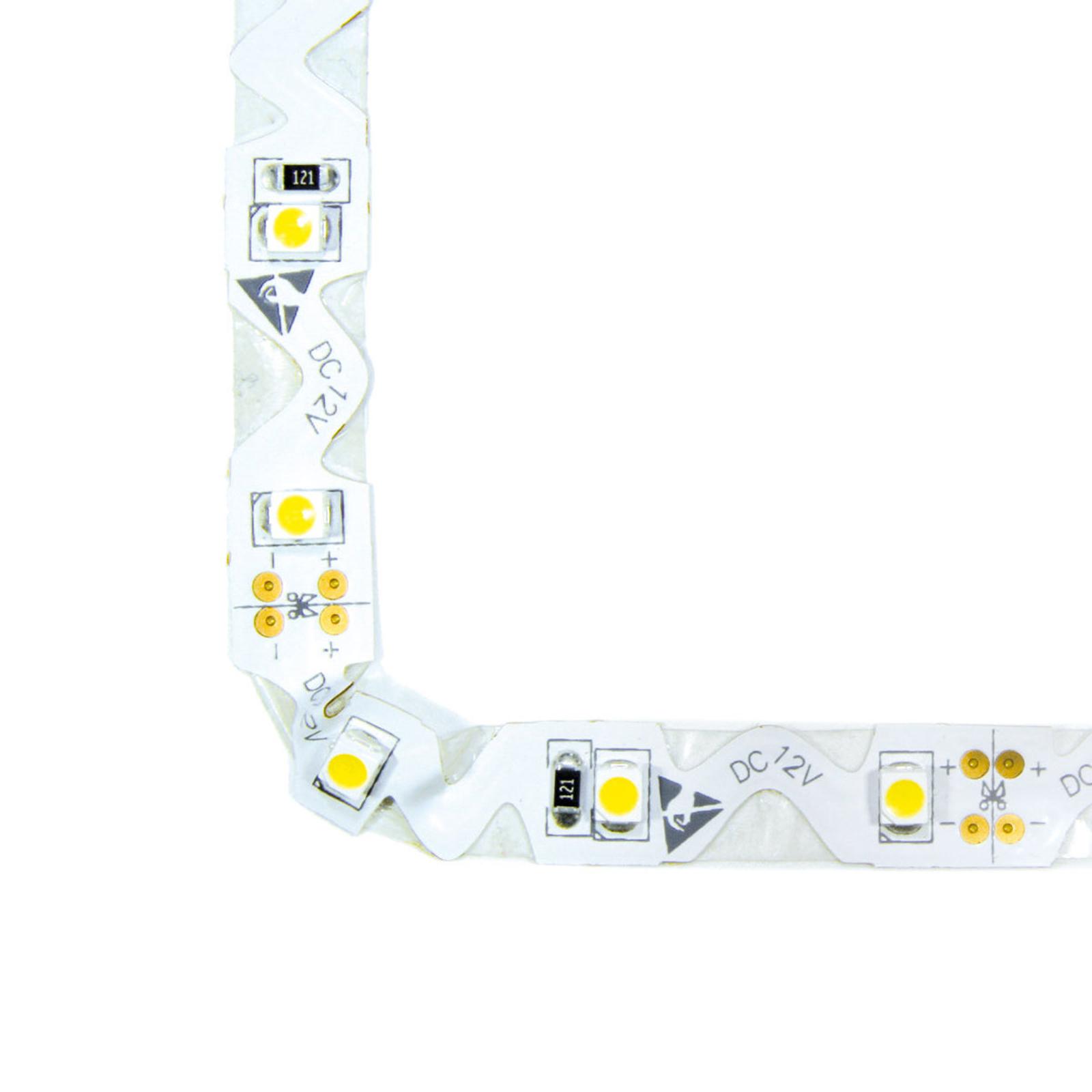 Joustava LED-nauha, valoväri lämmin valkoinen