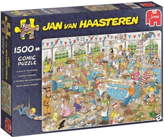 Jumbo Pussel Jan van Haasteren Clash 1500