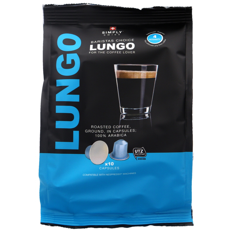 Kaffekapslar Nespresso Lungo 10-pack - 46% rabatt