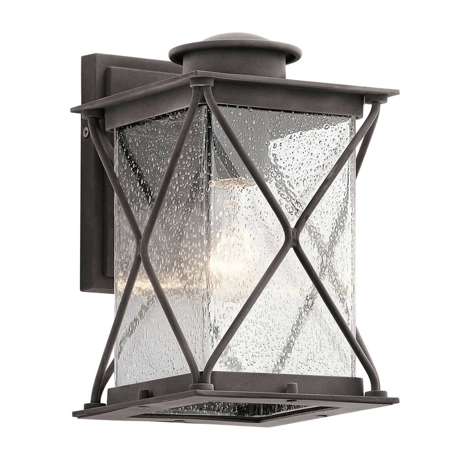 Argyle – liten utendørs vegglampe i landlig stil