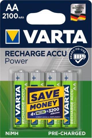 Batteri laddbart AA 2100 mAh