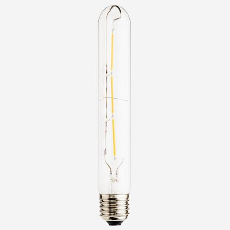 LED lampe E27 3W Ø 3 cm - Sølv