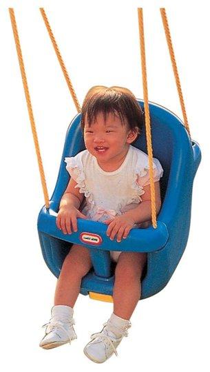Little Tikes Huske Toddler Swing Blå