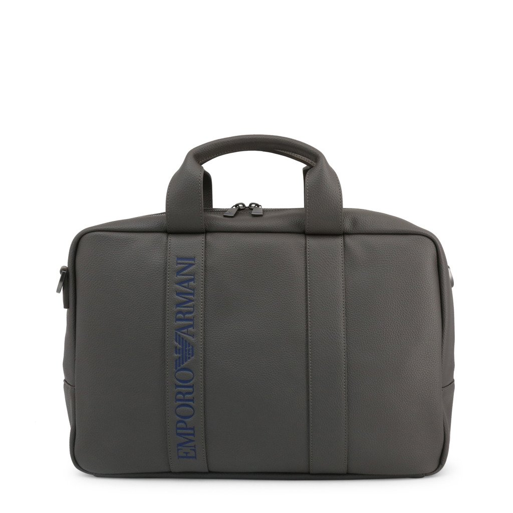 Emporio Armani Men's Briefcase Various Colours Y4Q084 YG89J - grey NOSIZE