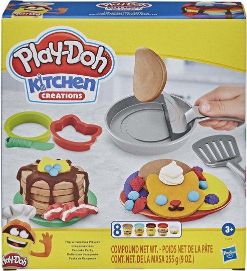 Play-Doh Lekeleire Kitchen Creations Flip 'n pancakes