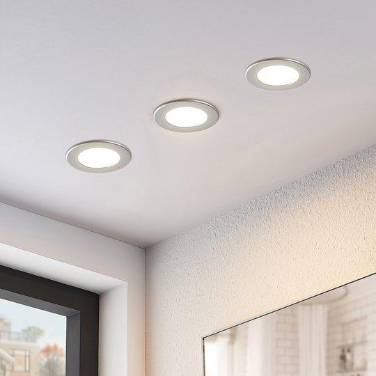 LED-kohdevalo Joki hopea 3 000 K pyöreä 11,5 cm