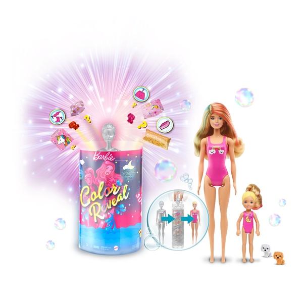 Barbie - Color Reveal - Slumber Party (GRK14)