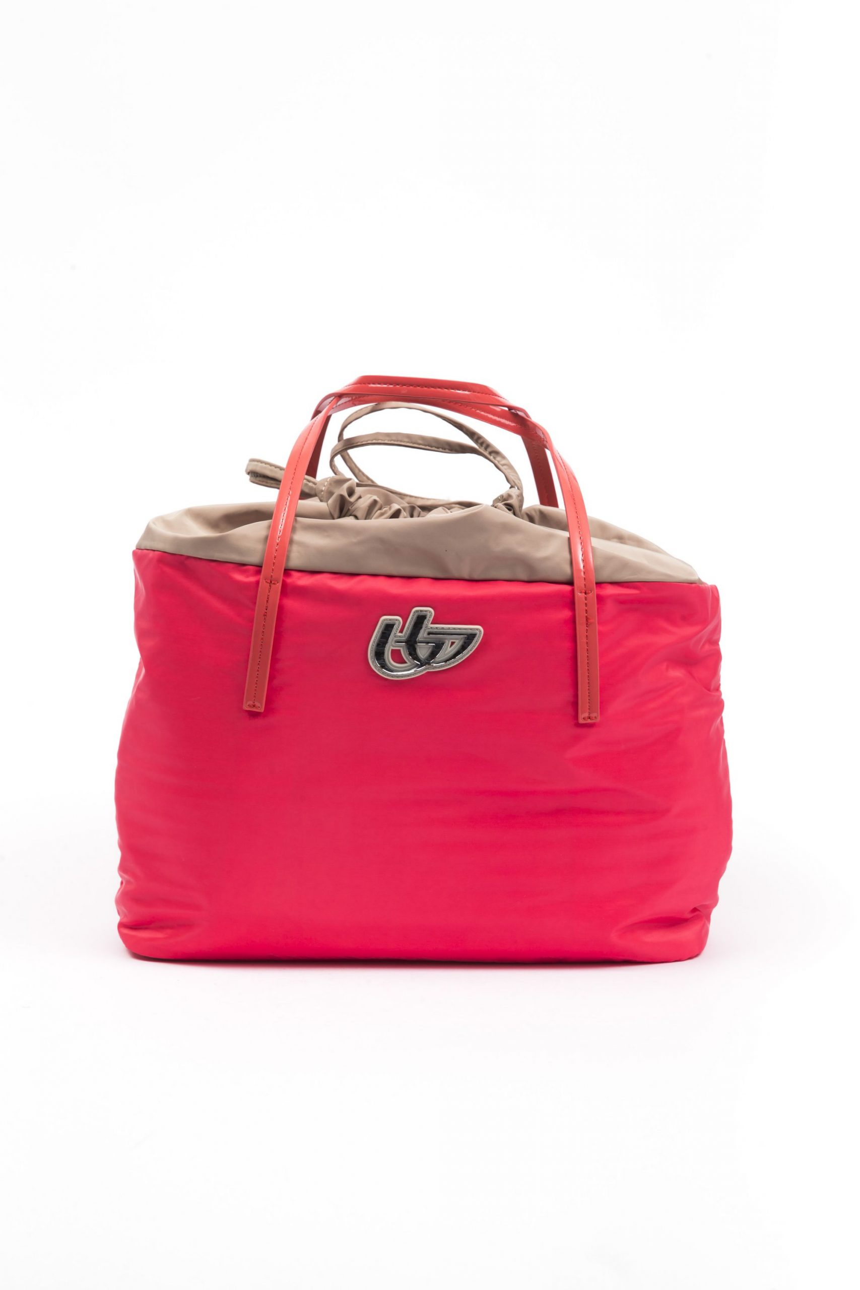 Byblos Women's Shopping Handbag Coral Red BY665683