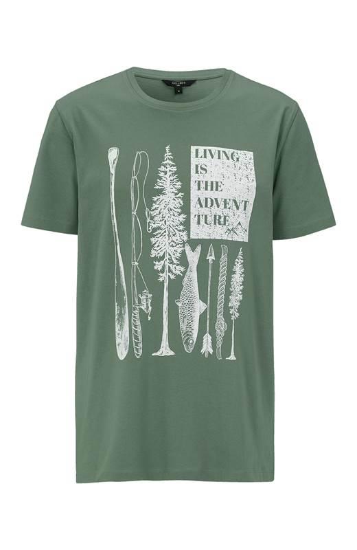 Cellbes T-shirt Khakigrön