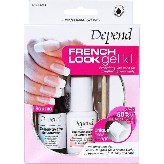 Depend French Look Gelekit - 6204, Depend Irtokynnet