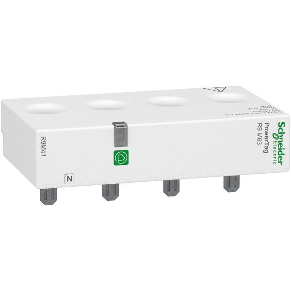 Schneider Electric R9M41 Energimåler 63 A, 3p+N Øvre