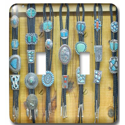 New Mexico, Gallup, Bolo Ties for Sale, Market 2-Gang Toggle Light Switch Wall Plate