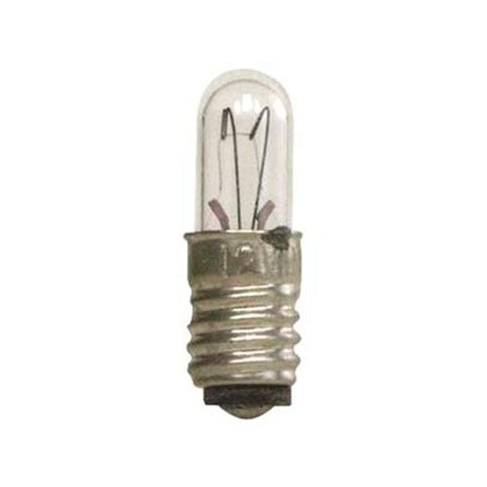 E5 0,4W 12V varalamput 5-lampun pakkaus, kirkas