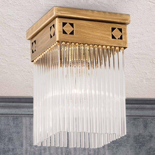 Jugendtyylinen Frieda-kattovalaisin, 1-lamppuinen