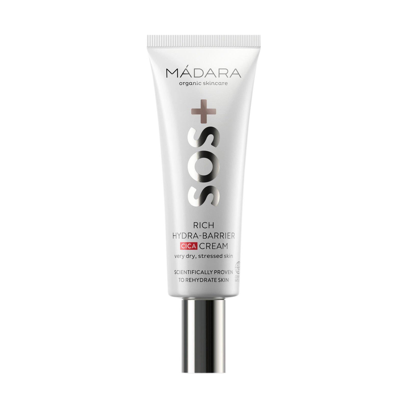 Mádara - SOS Rich Hydra-Barrier CICA Cream 40 ml