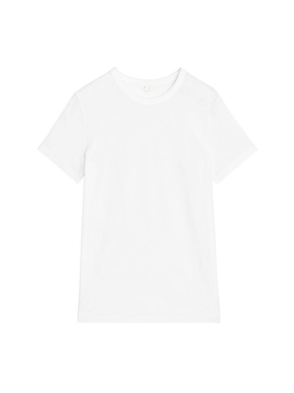 Ice Crepe T-Shirt - White