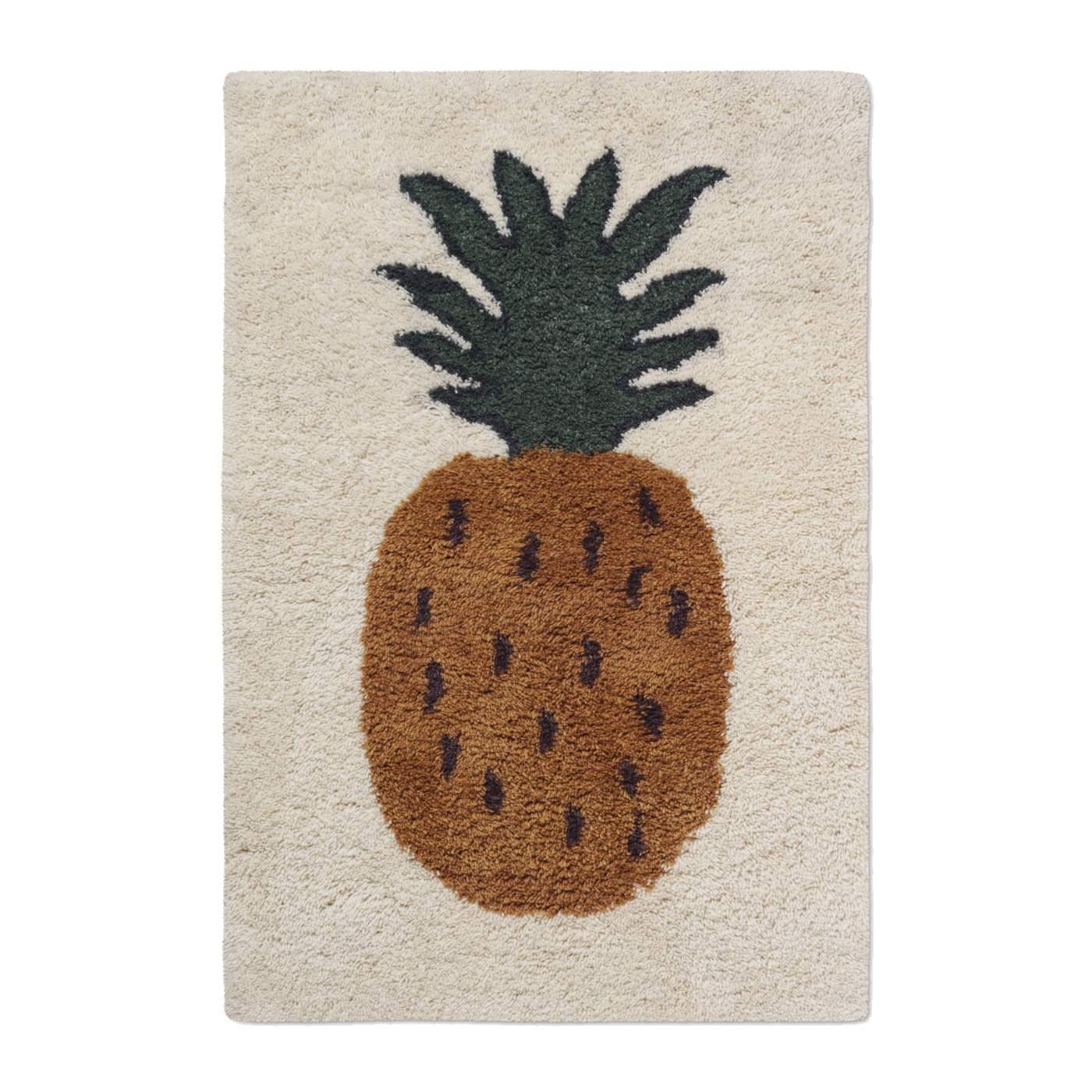 Barnmatta FRUITICANA ananas large, Ferm Living