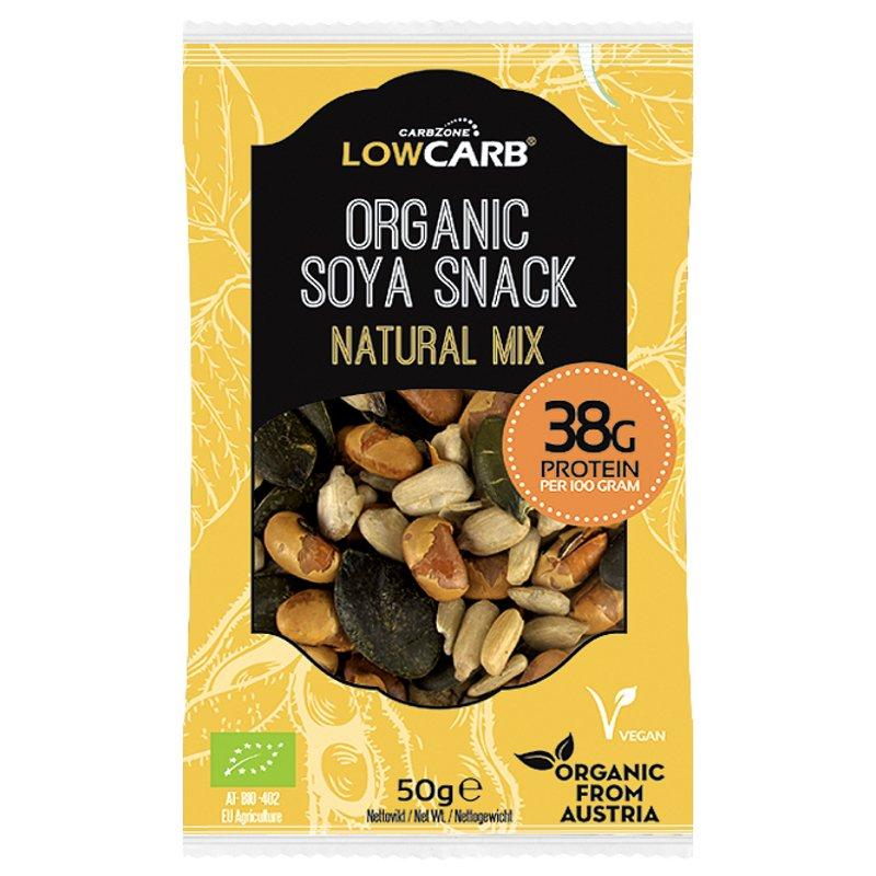 "Proteiini soijasnack ""Natural Mix"" 50 g - 40% alennus"