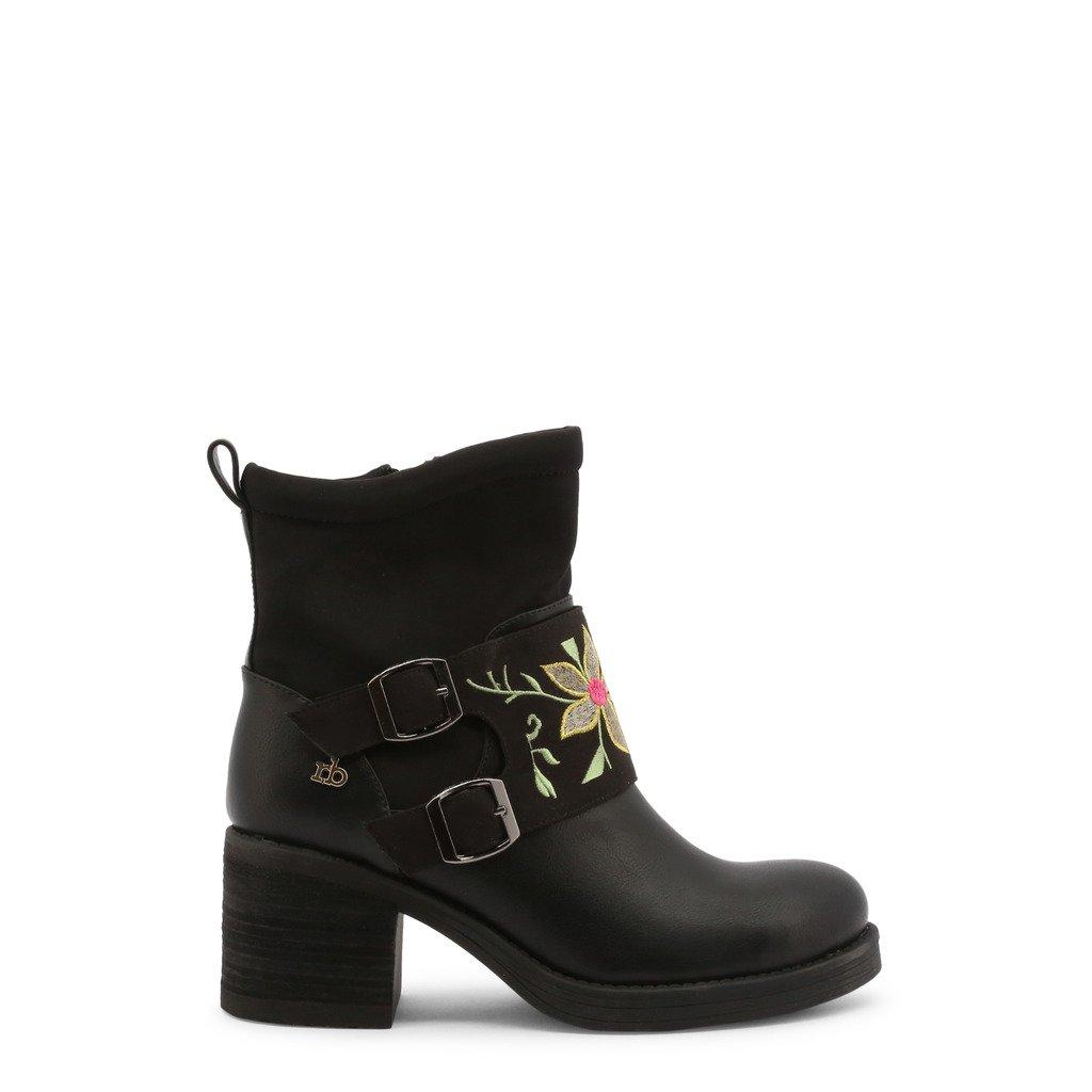 Roccobarocco Women's Ankle Boots Black 343028 - black EU 37