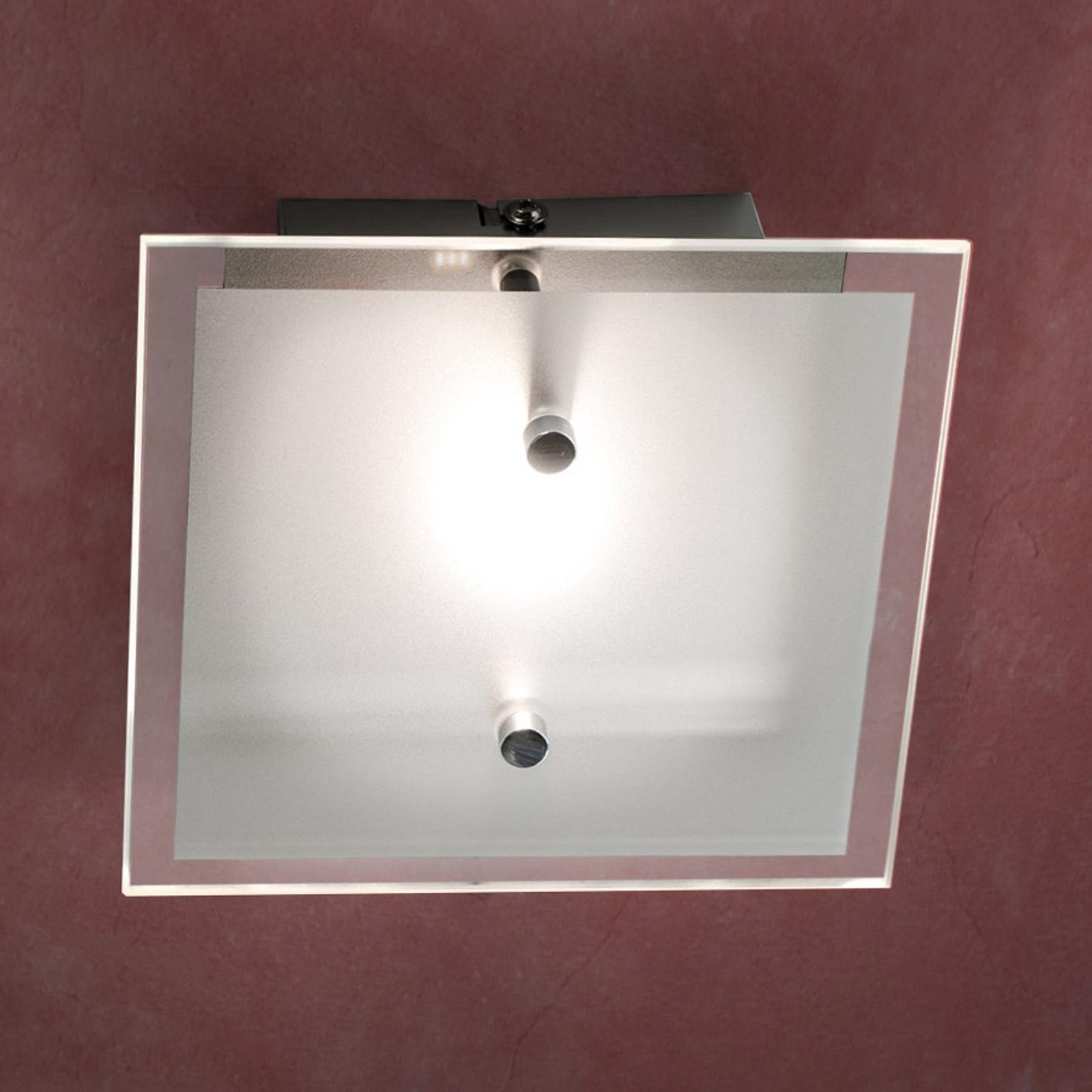 Yksilamppuinen LED-kattovalaisin Florien