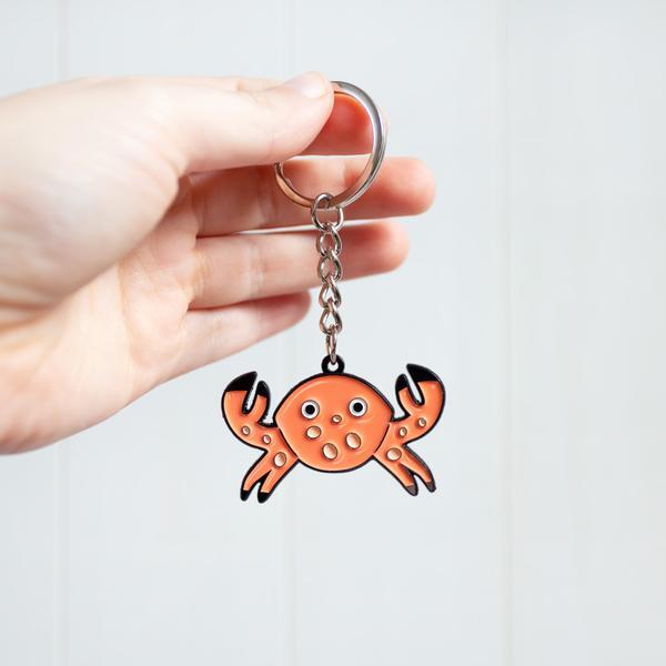 Crab Keyring