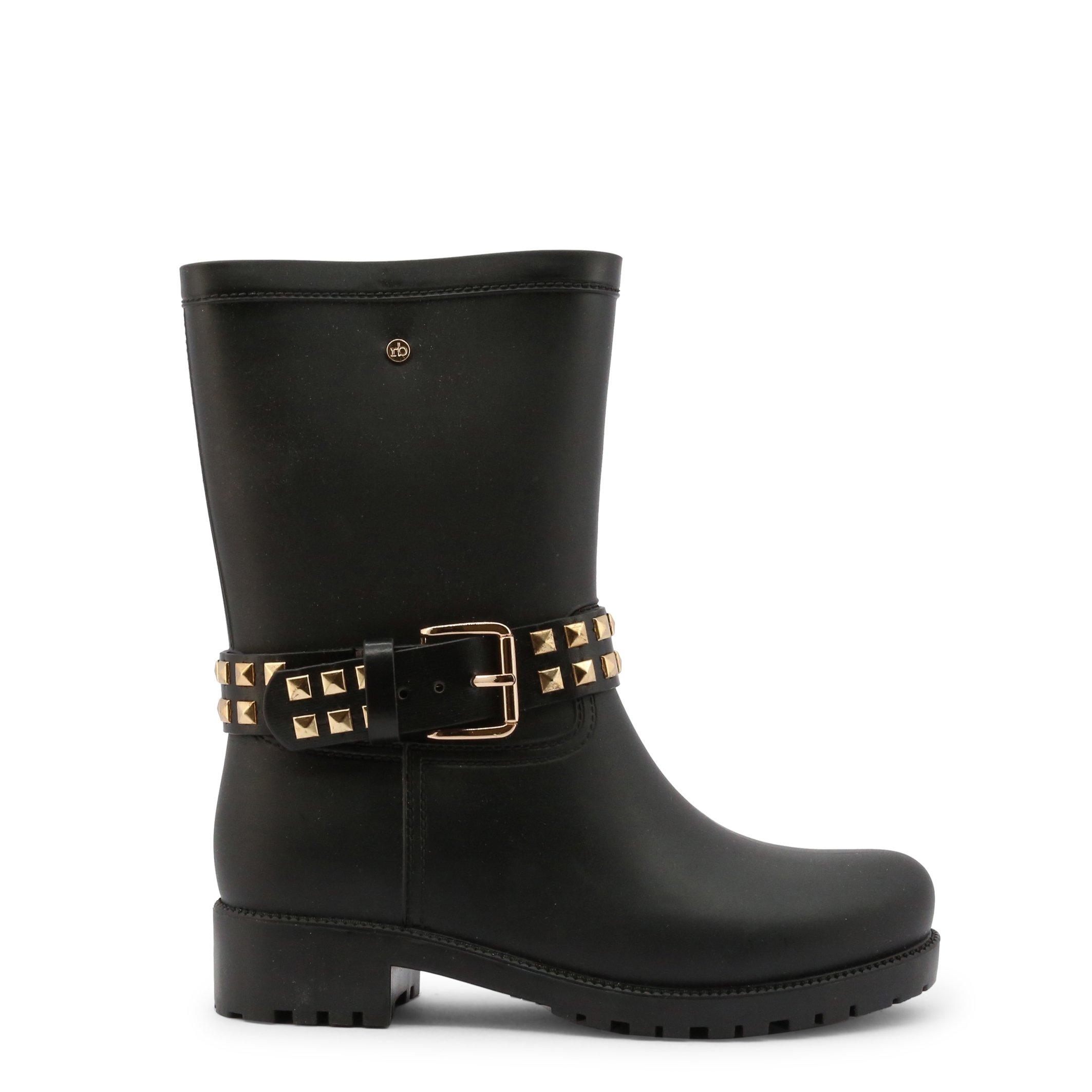 Roccobarocco Women's Boot Brown RBSC1K001STD - black EU 37