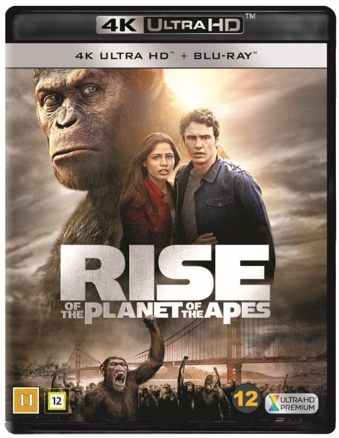 Rise Of The Planet Of The Apes (4K Blu-Ray)