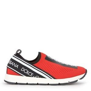 Dolce & Gabbana Mini Me Sorrento Sneakers Röda 27 EU