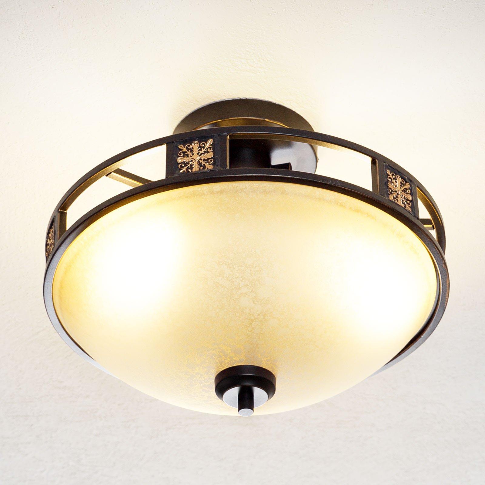 Antikk utformet taklampe Caecilia 42 cm
