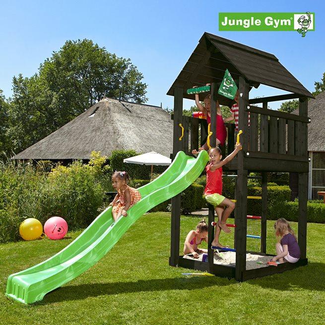 Jungle Gym Cabin lektorn komplett, Klätterställning