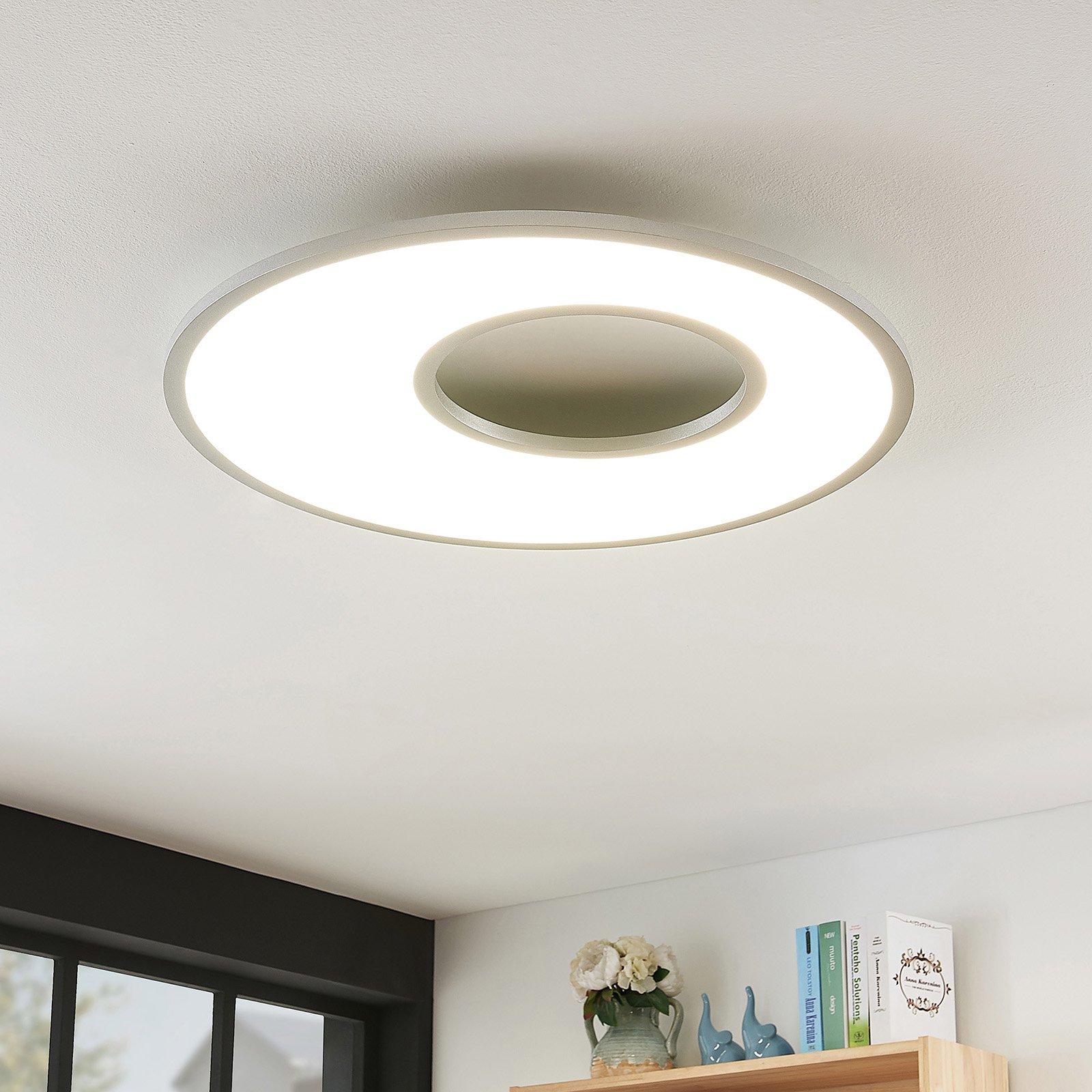 LED-taklampe Durun, dimbar, CCT, rund, 60 cm