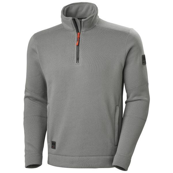 Helly Hansen Workwear Kensington Fleecejacka grå XS