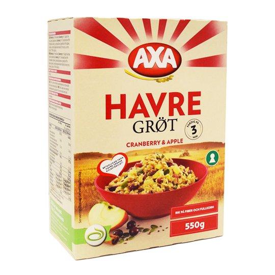 Havregröt Tranbär & Äpple - 87% rabatt