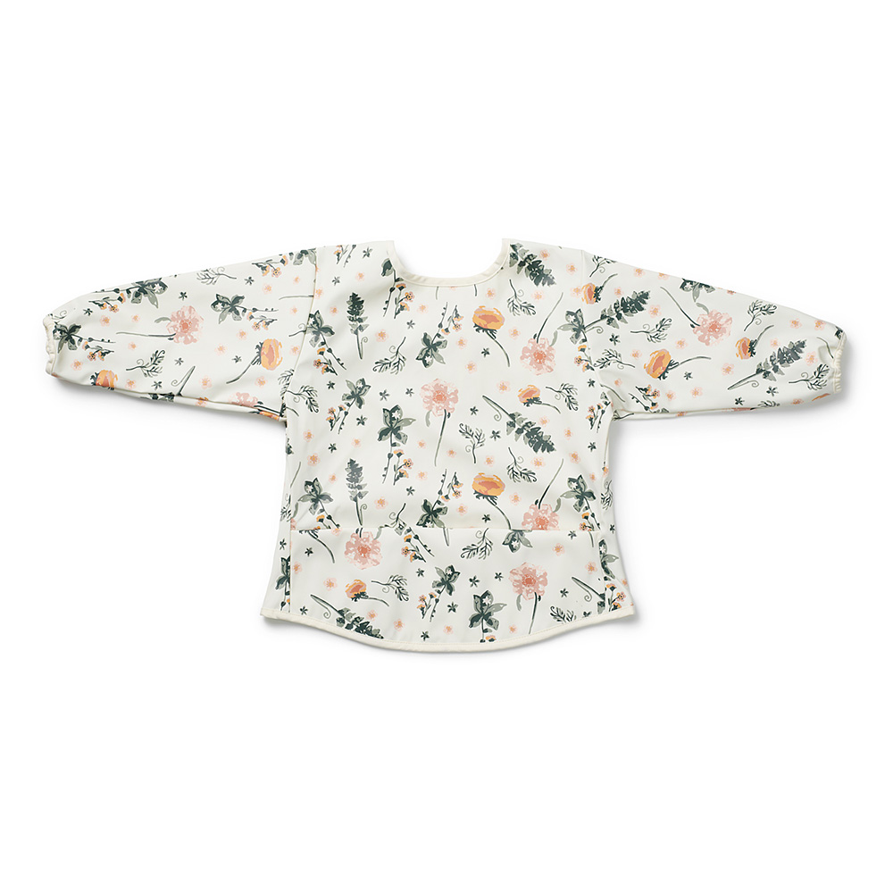 Long-sleeved Baby Bib - Meadow Blossom