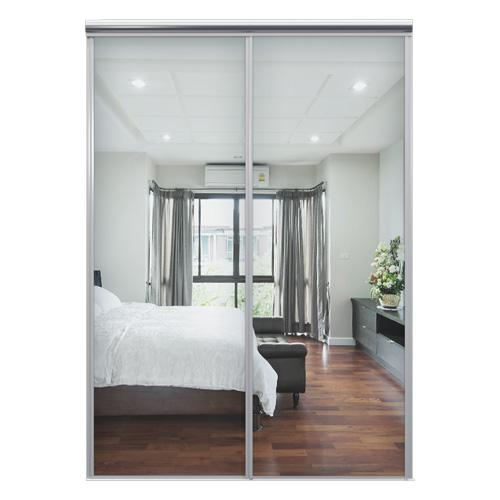 Mix Skyvedør Sølvspeil 1550 mm 2 dører