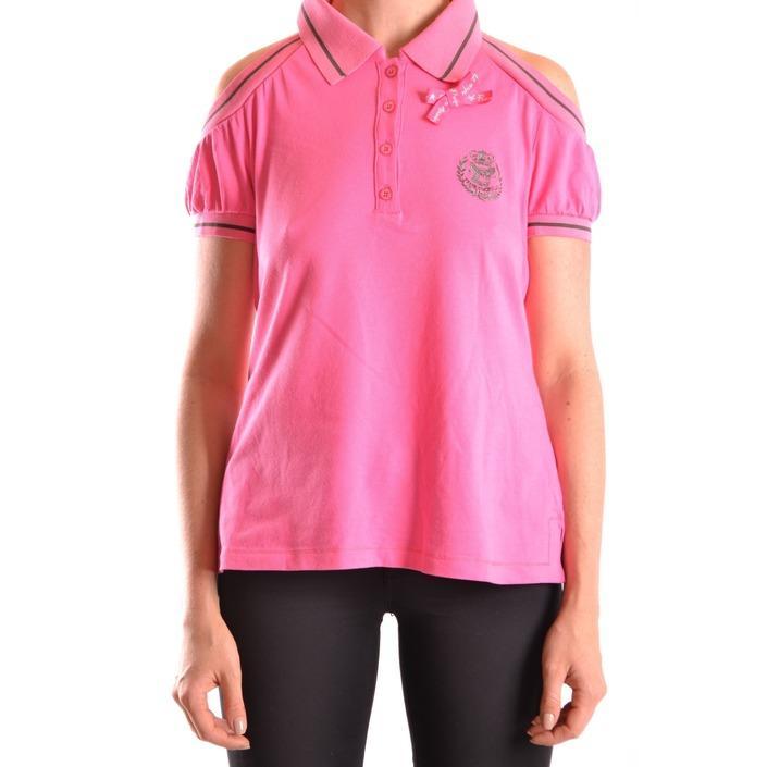 Frankie Morello Women's Polo Shirt Pink 169740 - pink L
