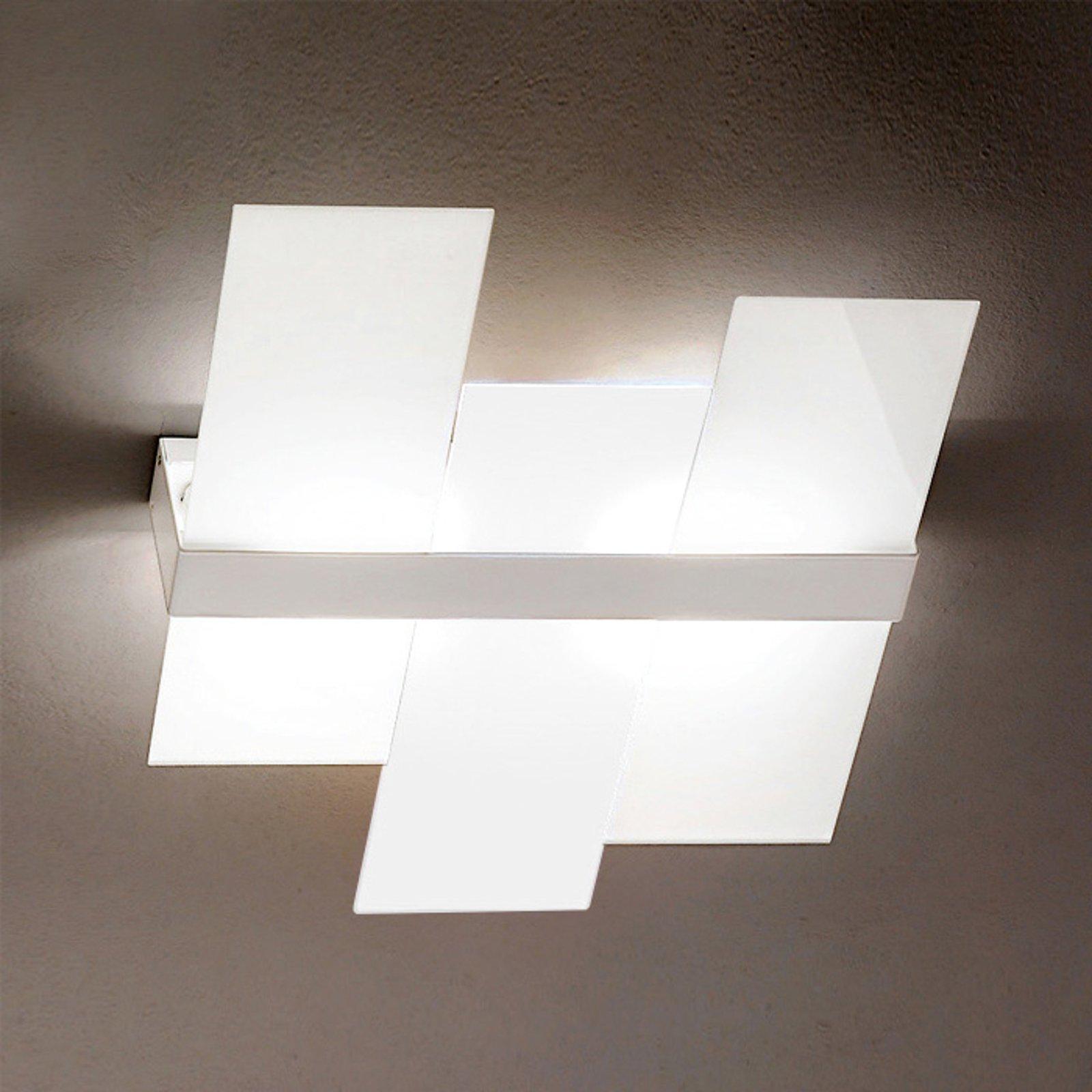 Moderne Triad taklampe i hvitt, 62 cm