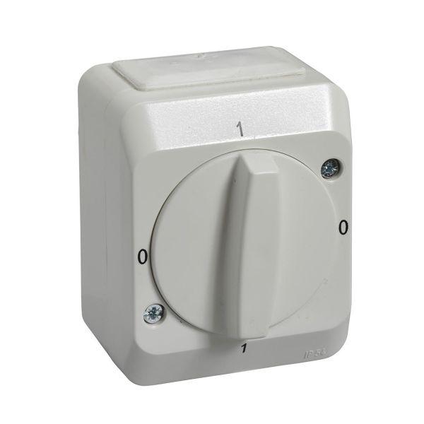 Schneider Electric Aqua Stark PV Kiertokytkin IP44 2-napainen