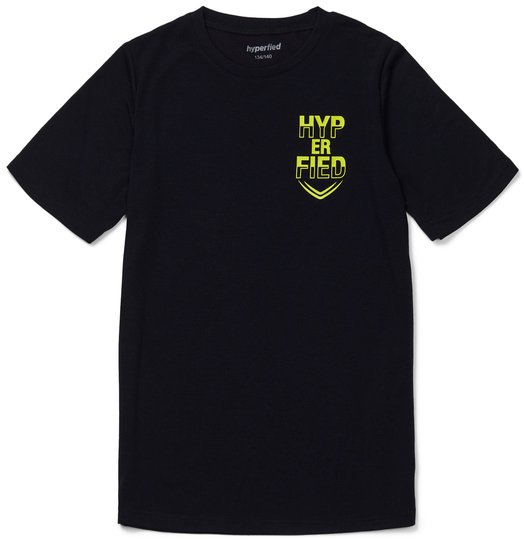Hyperfied Neo Logo T-Shirt, Anthracite 86-92