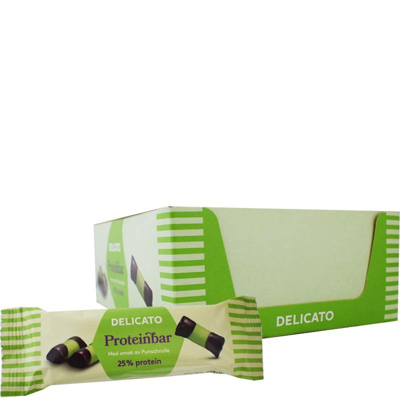 Proteinbars Punschrulle 20-pack - 38% rabatt